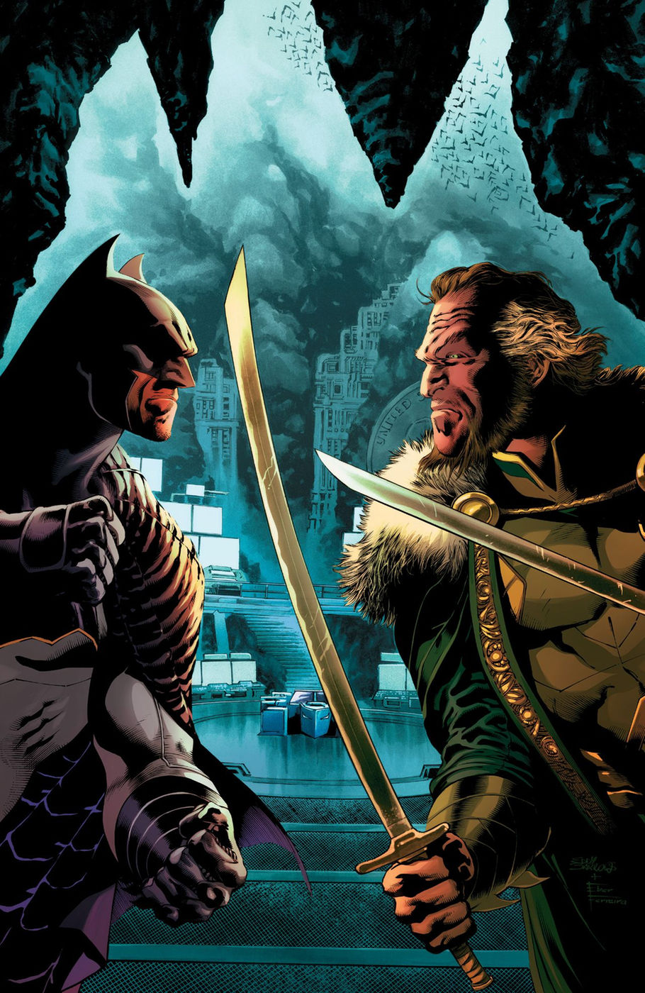 detective comics april cover