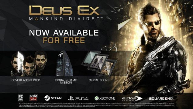 Deus Ex: Mankind Divided Has Gifted Players With Free (Day One) DLC