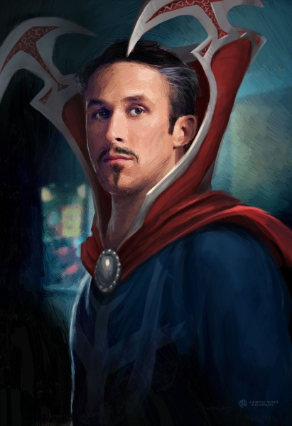 Doctor Strange Concept Art Reveals What Ryan Gosling Would Look Like As The Sorcerer Supreme