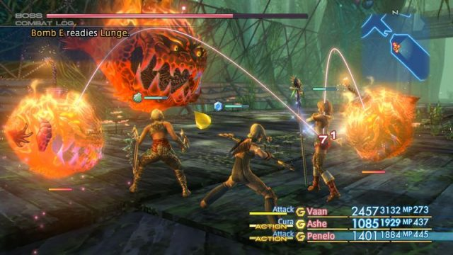 Latest Final Fantasy XII The Zodiac Age Footage Delves Into Combat