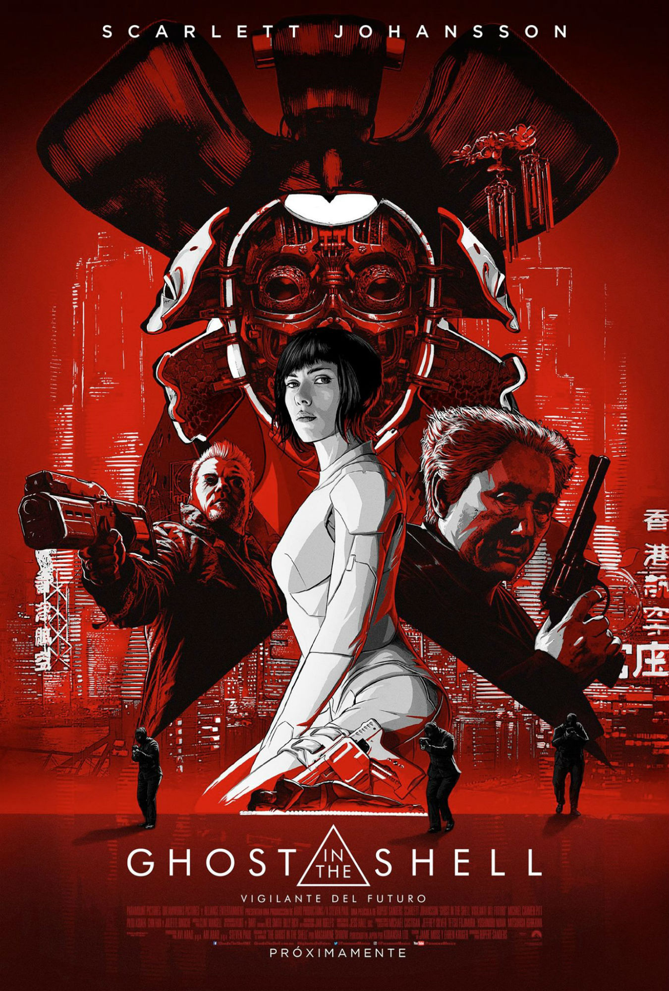 Viral Clip For Ghost In The Shell Hints At A Stolen Identity, Striking New Poster Arrives