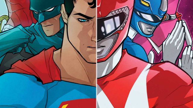 Stephen Byrne Talks Justice League/Power Rangers #1