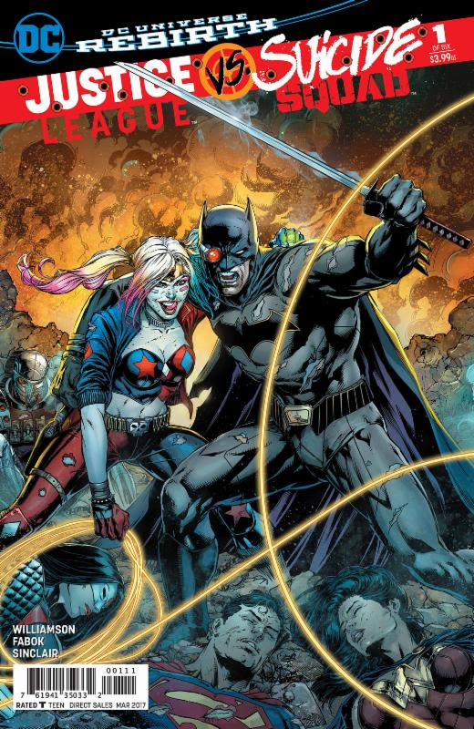 Justice League Vs. Suicide Squad #1 To Get Second Print