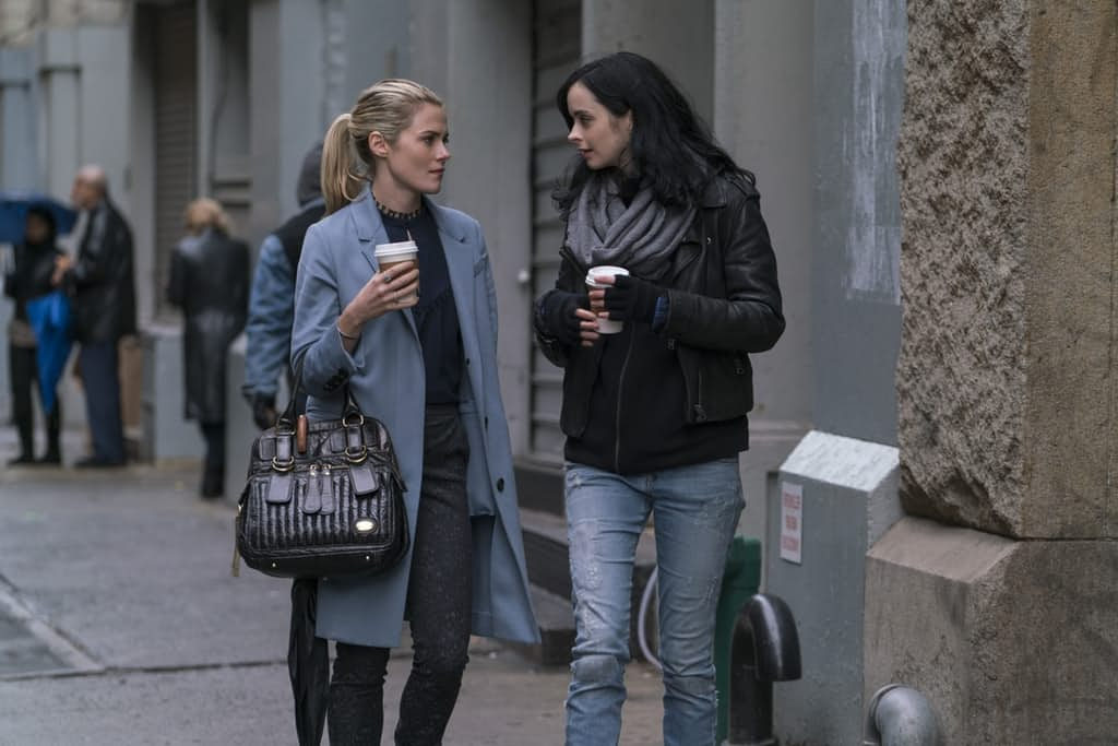 Jessica And Trish Take A Stroll In Latest Pics For The Defenders; Krysten Ritter Game For Possible Second Season