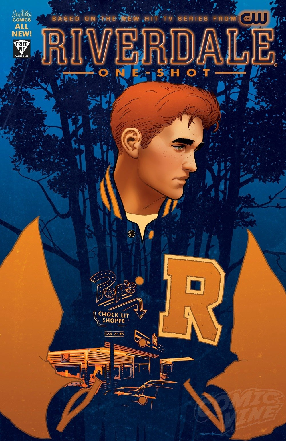 New Riverdale Trailer Debuts Variant Cover For Tie In