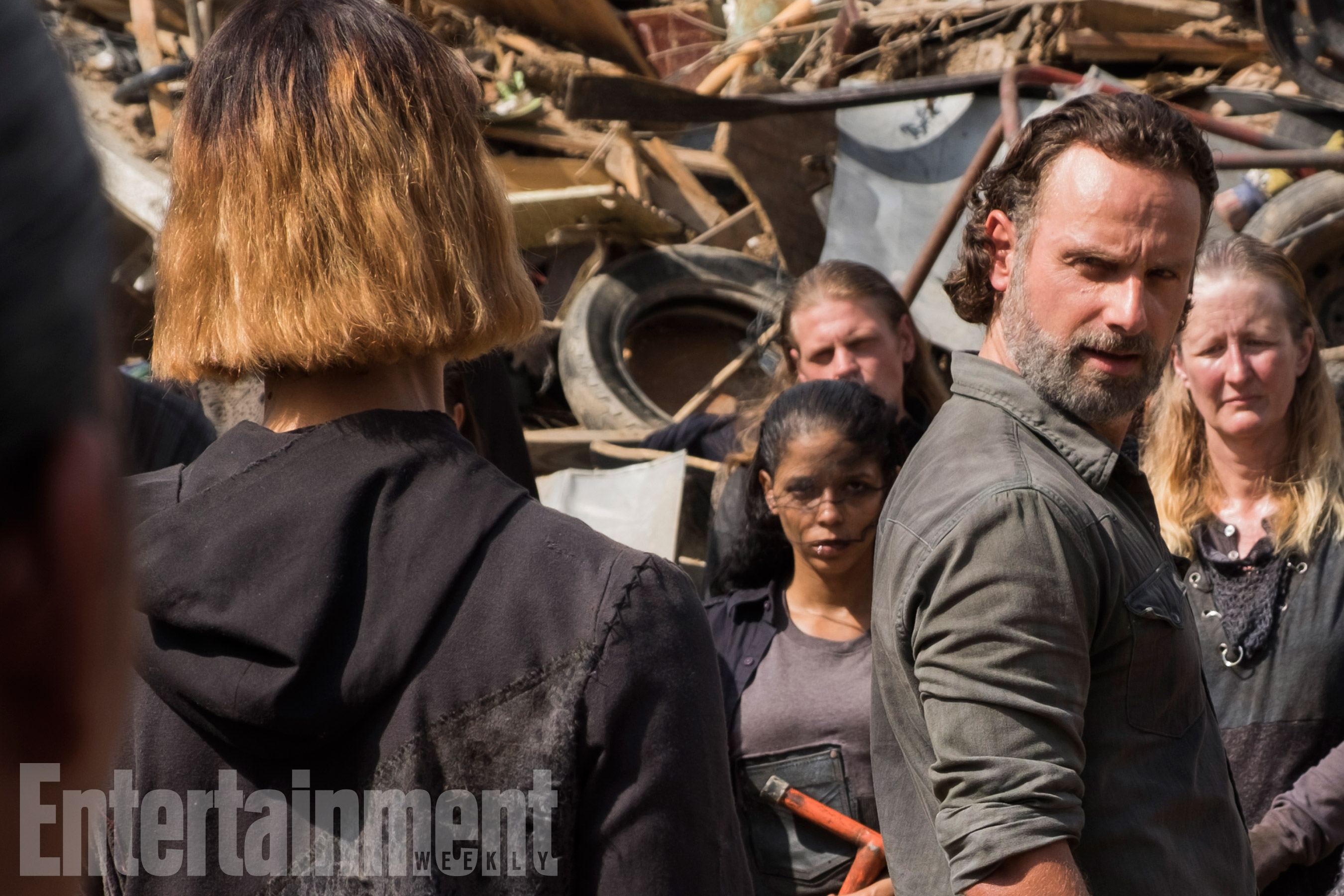 The Walkign Dead (2017) Season 7, Episode 10 Andrew Lincoln as Rick Grimes