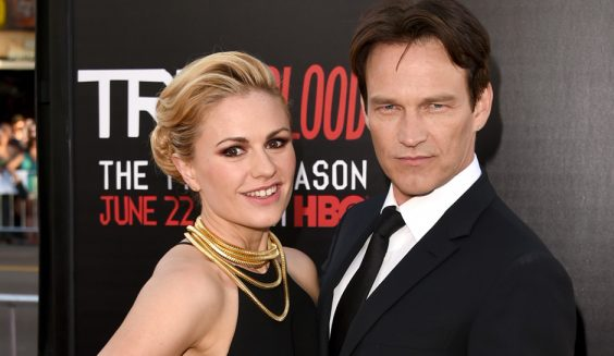 True Blood's Stephen Moyer And Anna Paquin Reunite For The Parting Glass
