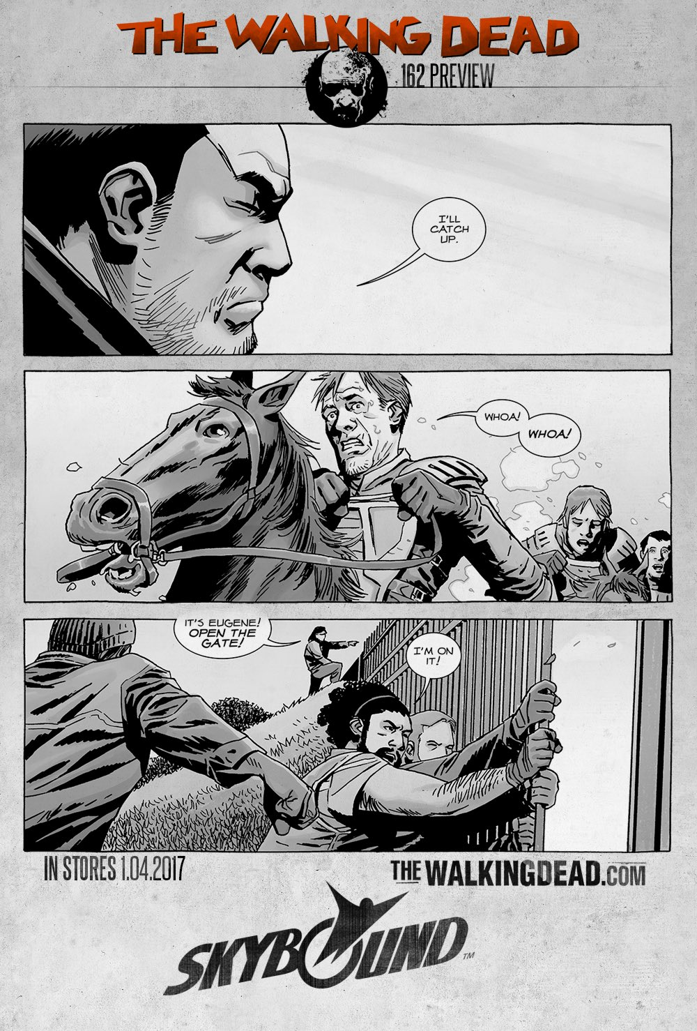The Whisperer War Comes To An End In This First Look At Wednesday's The Walking Dead #162