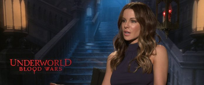 Exclusive Video Interview: Kate Beckinsale Talks Underworld: Blood Wars