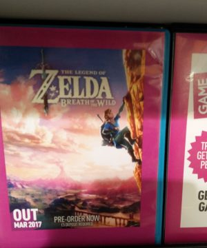 UK Retailer GAME Pegs The Legend Of Zelda: Breath Of The Wild Release Date For March