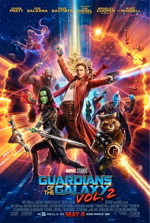 The A-Holes Are Off On Another Adventure In New Guardians Of The Galaxy Vol. 2 Trailer