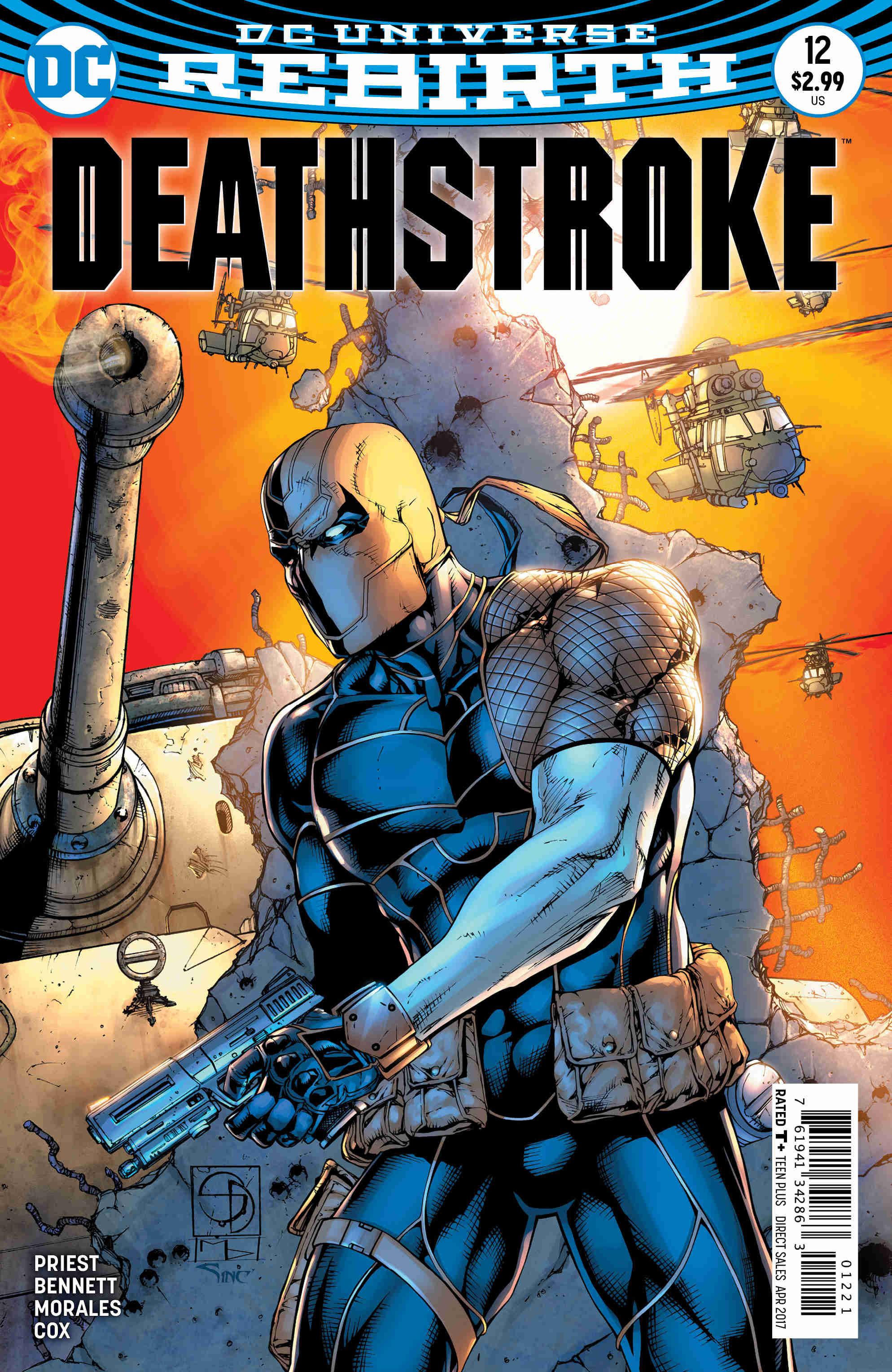 Deathstroke #12 Review