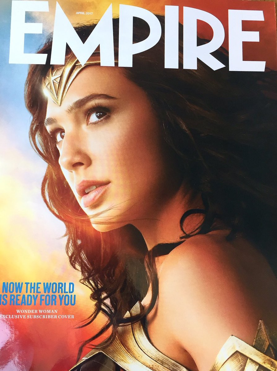 Gal Gadot's Wonder Woman Graces The Cover Of Empire Magazine