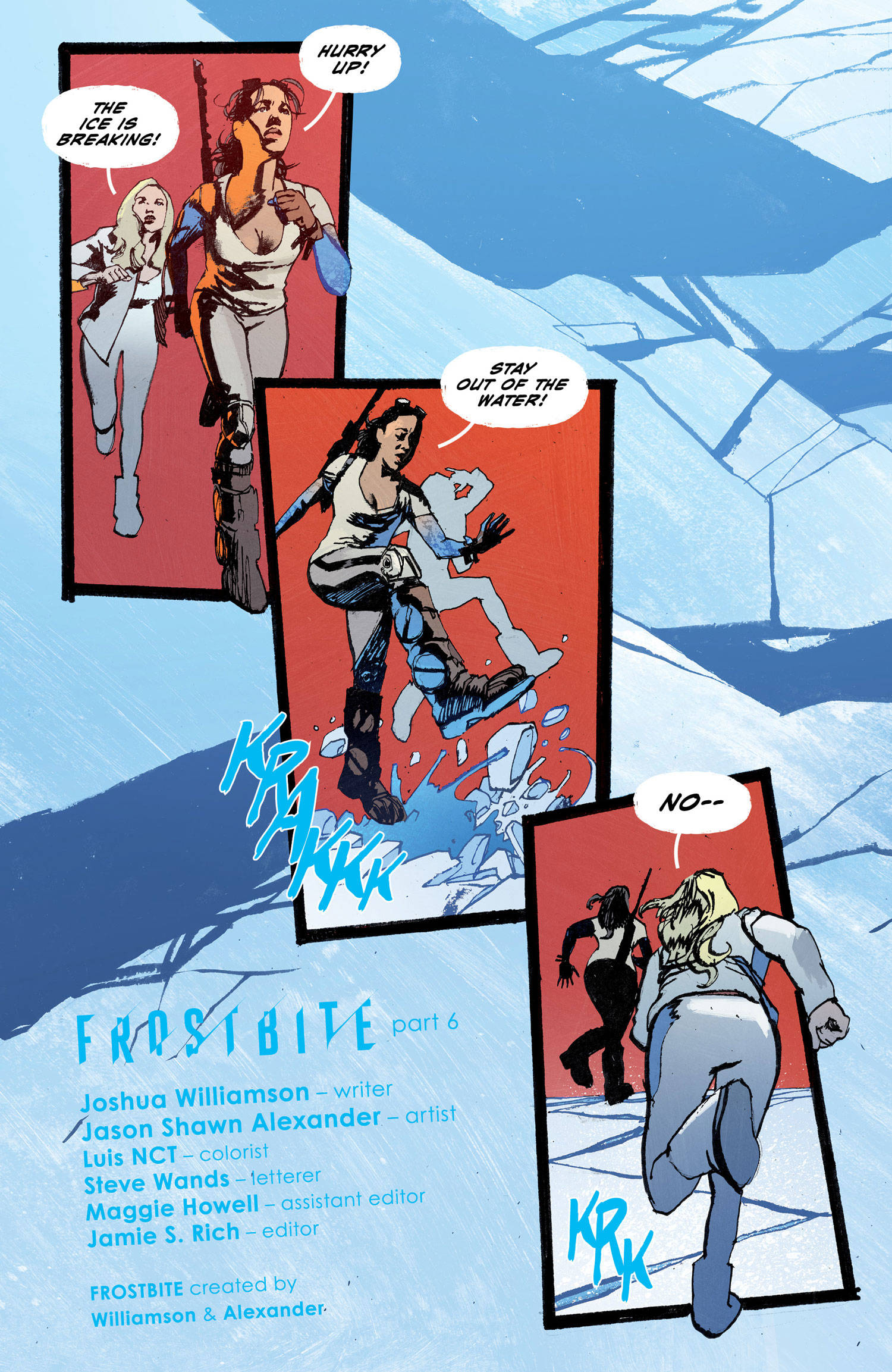 Exclusive Interview: Joshua Williamson Discusses Frostbite And Ideas For A Sequel