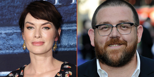 Wrestling Drama Fighting With My Family Ropes In Lena Headey And Nick Frost