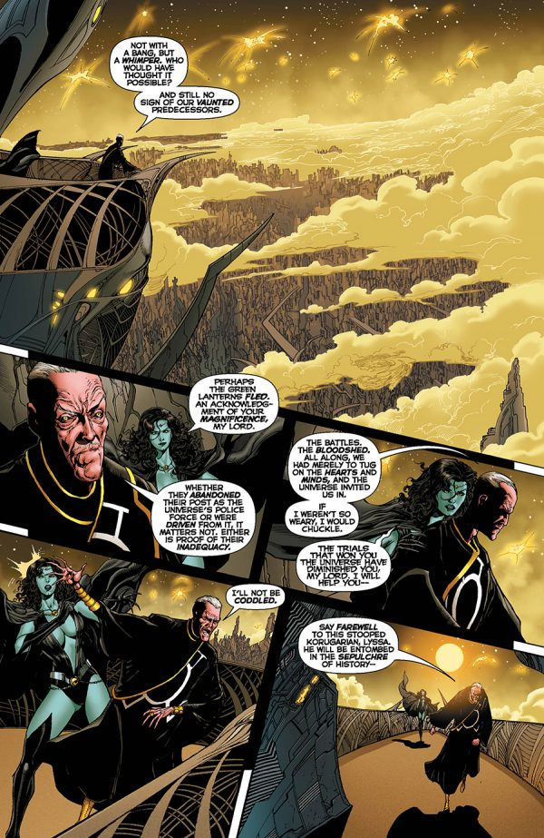 Hal Jordan And The Green Lantern Corps Vol. 1: Sinestro's Law Review