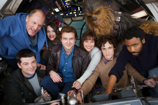First Han Solo Set Photo Unveils A Familiar Location