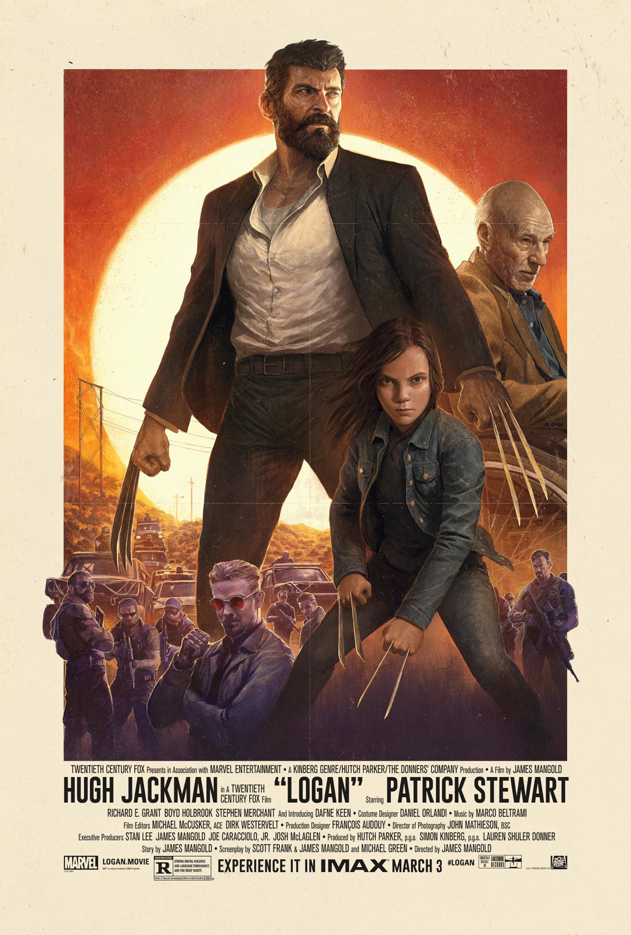 IMAX Poster For Logan Paints James Mangold's Thriller As An Old-School Western