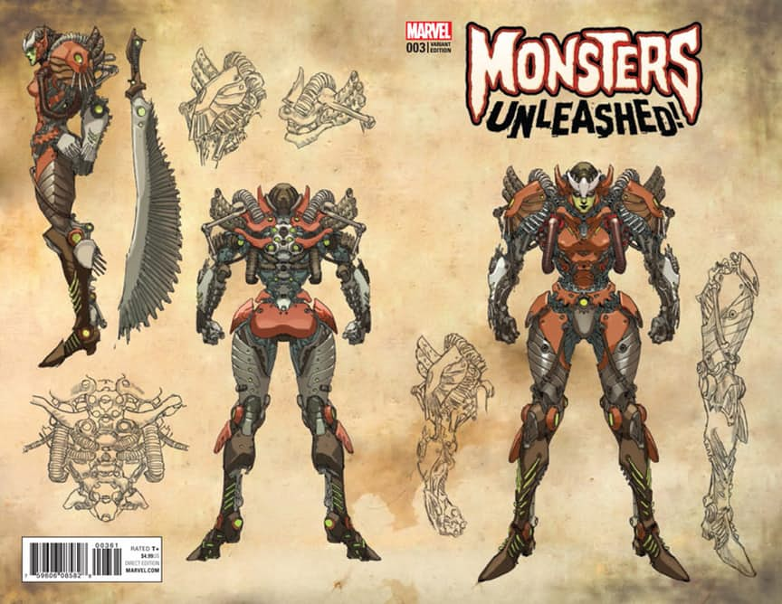 Monsters Unleashed #3 Review