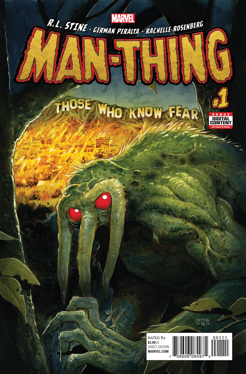 Man-Thing #1 Review