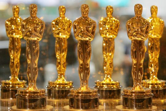Oscar statuettes are displayed at Times Square Studios 23 January 2006 in New York. The statuettes will be presented to winners of the 78th Academy Awards 05 March 2006 in Hollywood.