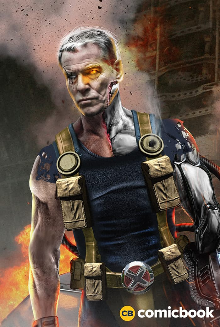 Pierce Brosnan Reportedly In Talks To Play Cable In Deadpool 2