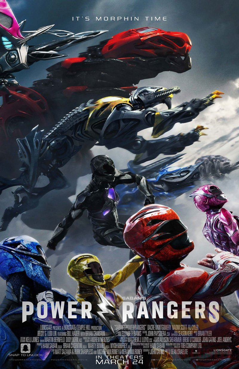 It's Morphin' Time On The Final Power Rangers Poster