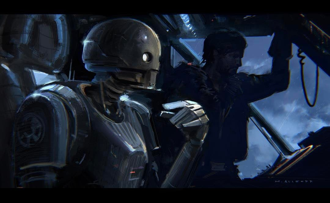 Rogue One Concept Art Teases How Gareth Edwards' Star Wars Story Came To Be