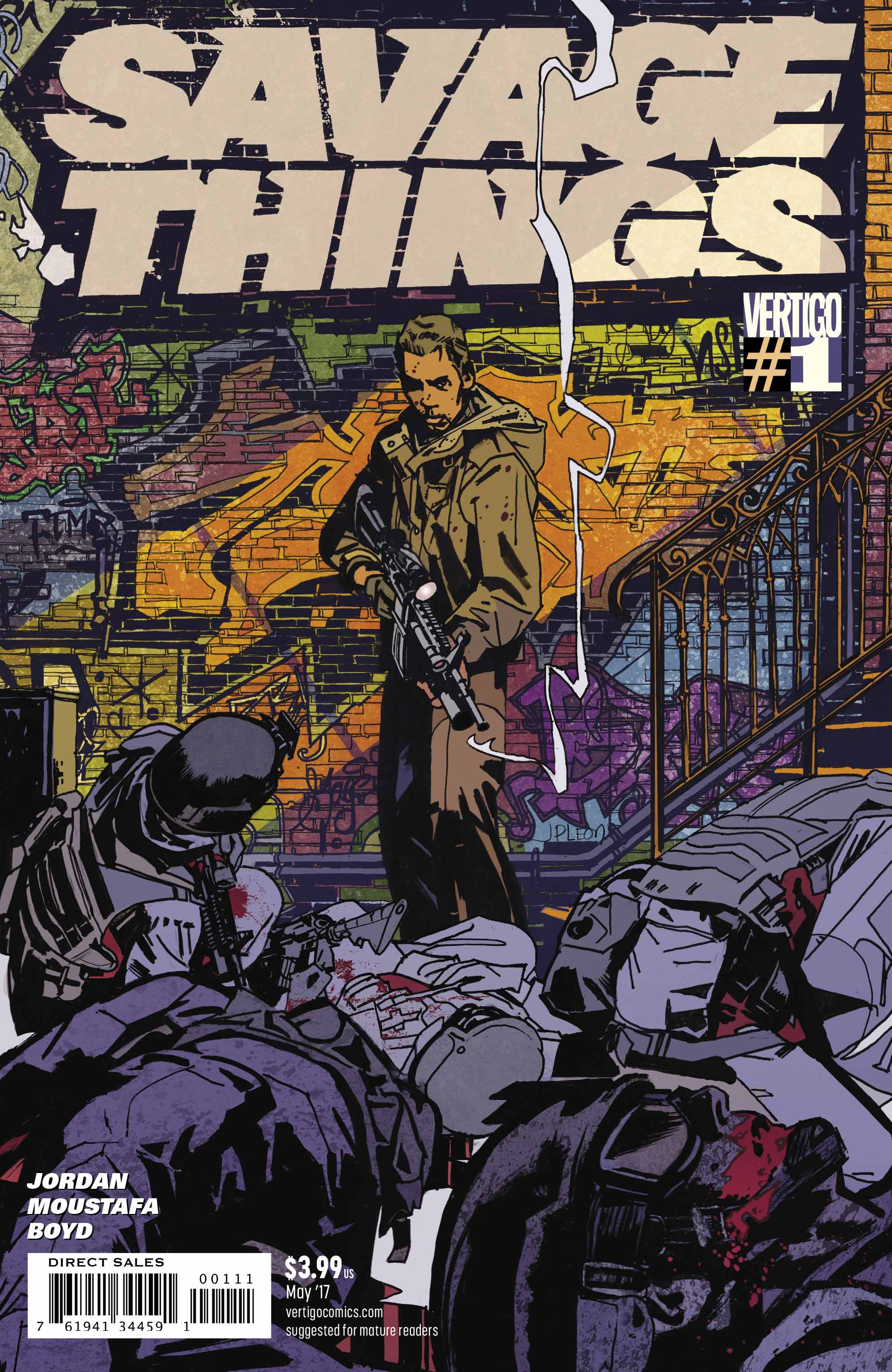 Savage Things #1 Review