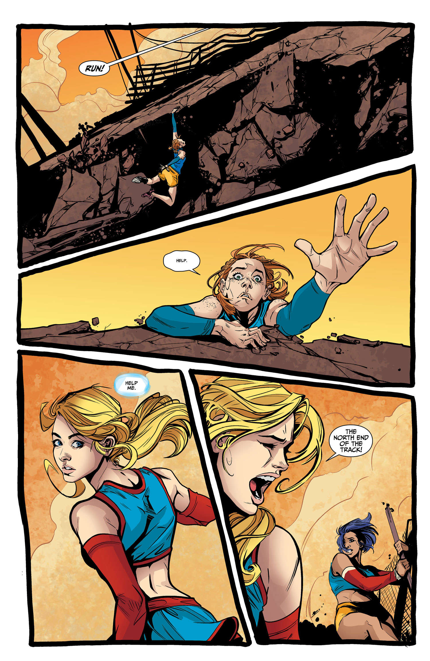 Kara Learns You Can't Save Everybody In Supergirl: Being Super #2
