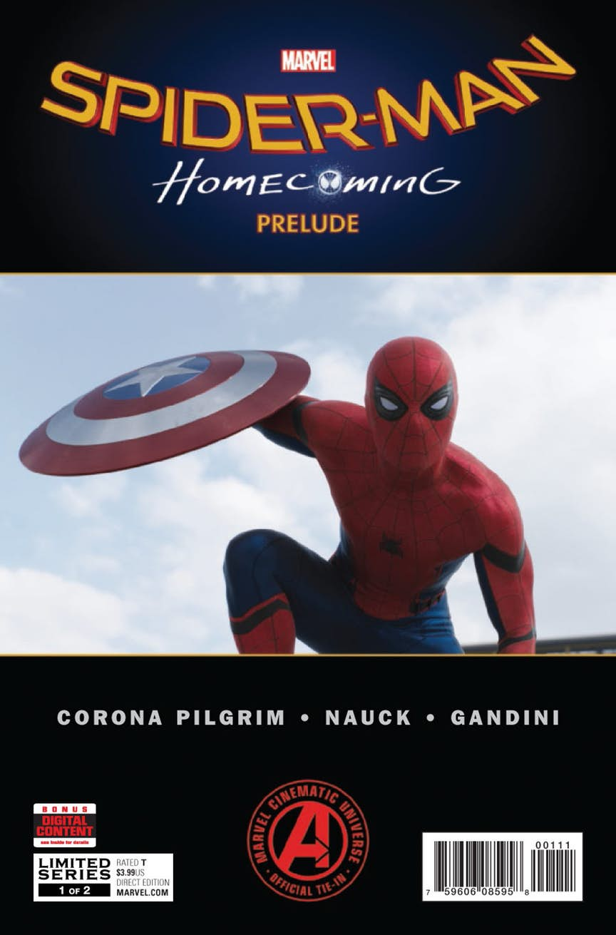 Spider-Man: Homecoming Prelude #1 Review
