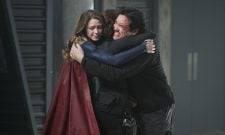 New Supergirl Images Capture Dean Cain's Return