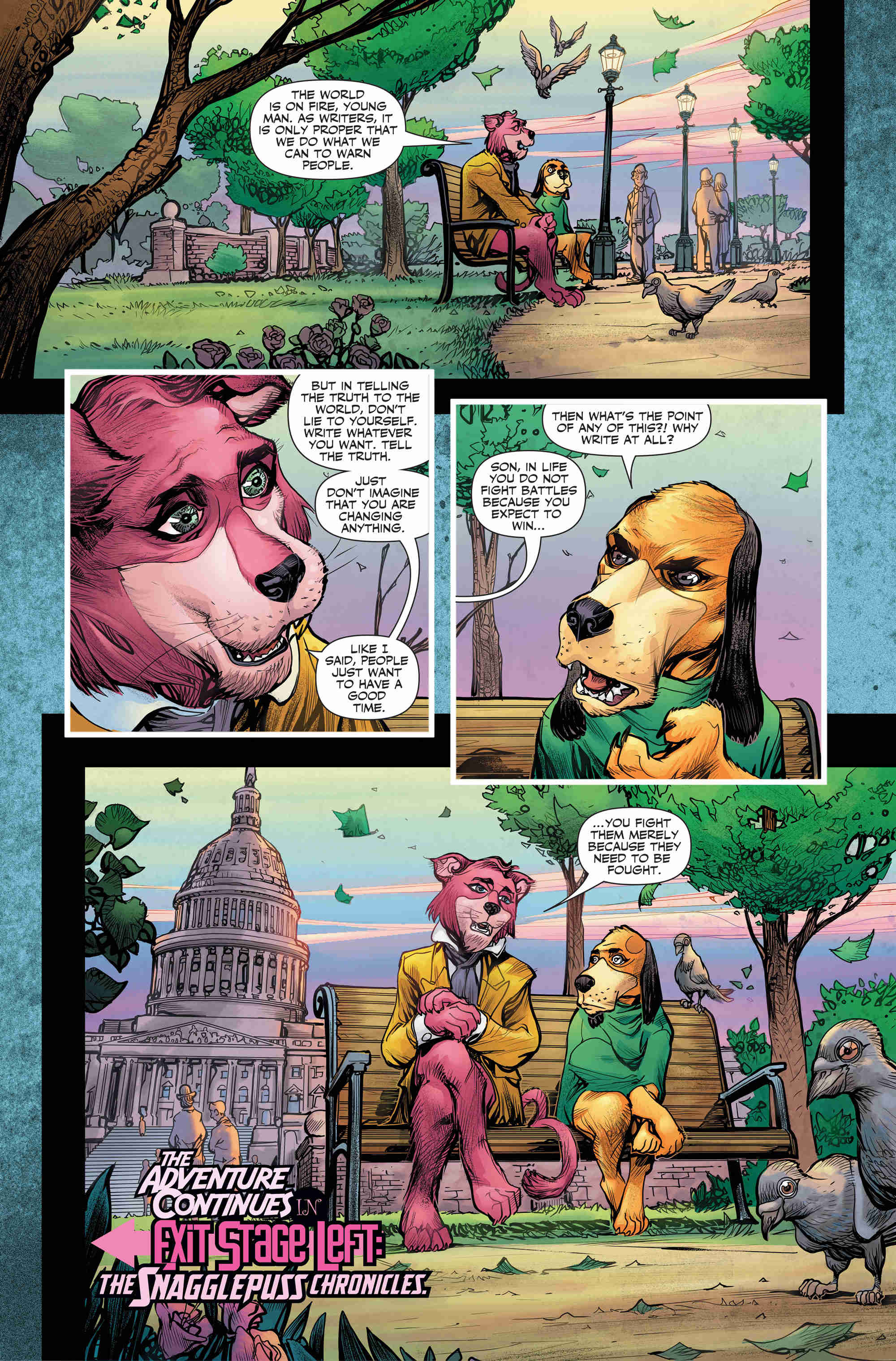 Snagglepuss Leads DC's Second Wave Of Hanna-Barbera Titles
