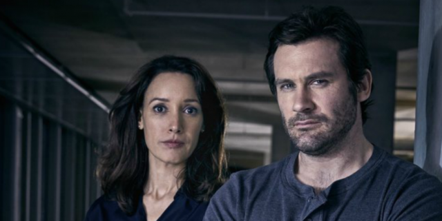 Clive Standen and Jennifer Beale in Taken