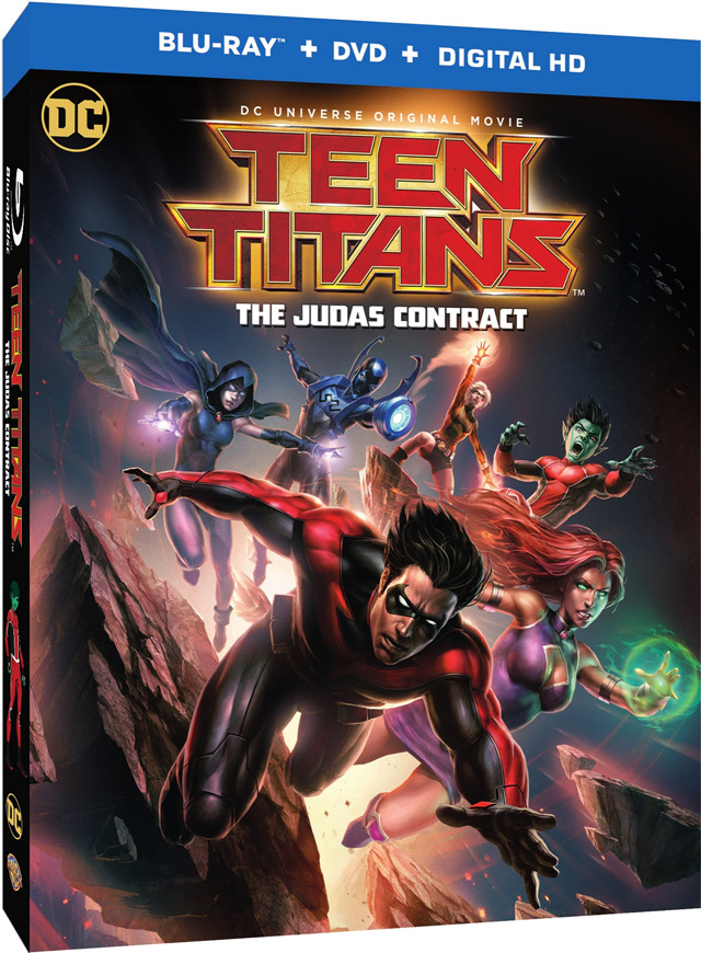 Teen Titans: The Judas Contract Blu-Ray Cover Art And Release Date Revealed