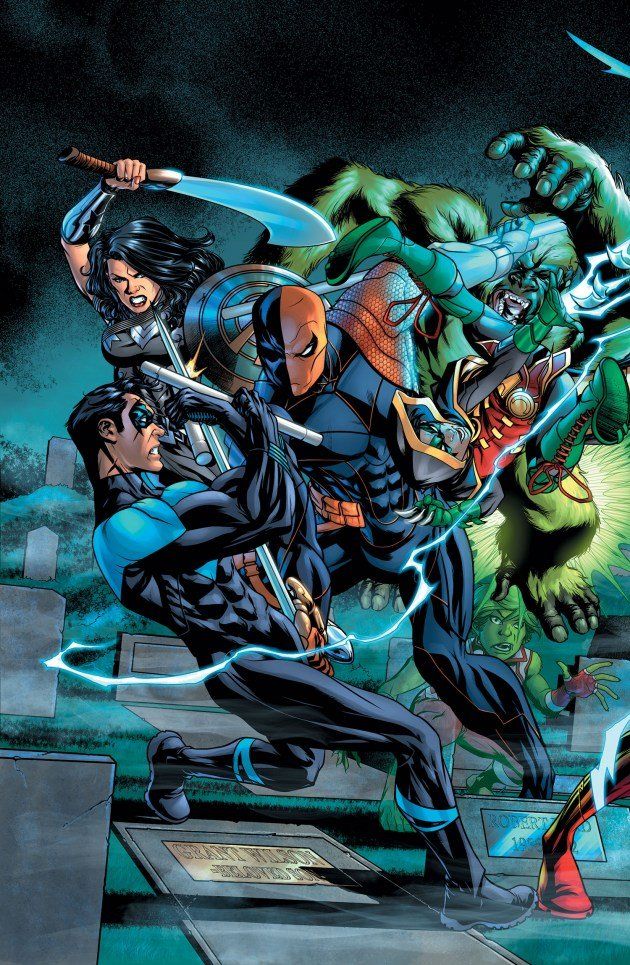 "Deathstroke Brings The Pain In ""The Lazarus Contract"" Crossover This May"