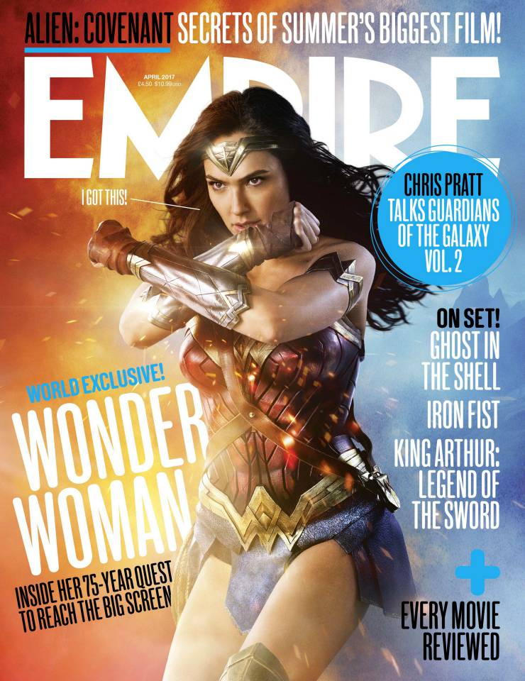 Official Empire Cover Spotlights A Battle-Ready Wonder Woman