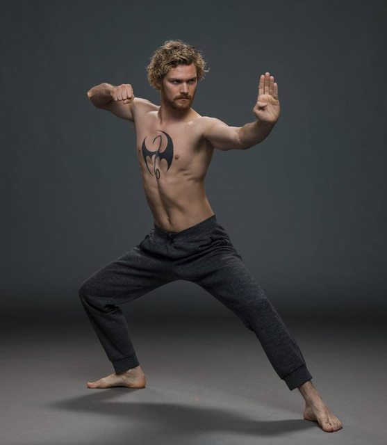 Finn Jones Strikes An Iconic Pose As Danny Rand In New Iron Fist Photos