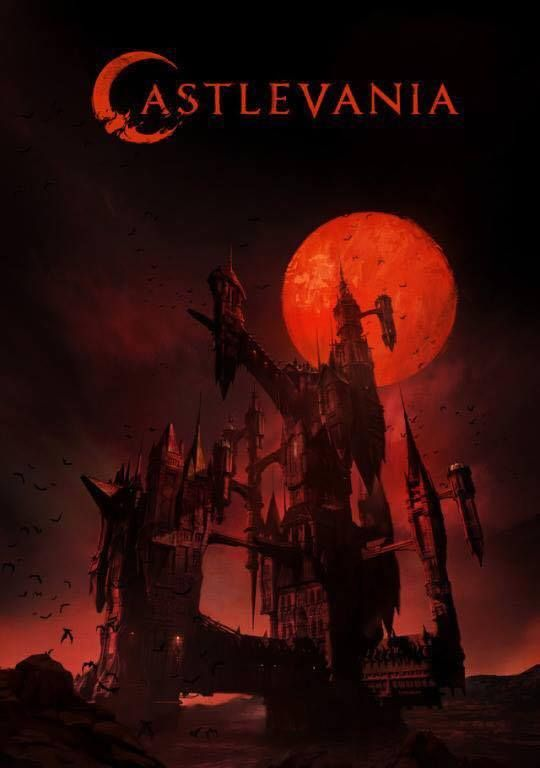 Dracula's Castle Looms Large On The First Poster For Netflix's Castlevania Series