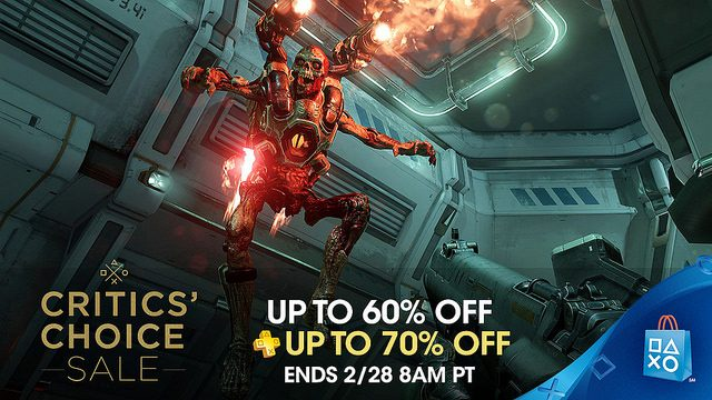 PlayStation Store Critic's Choice Sale Knocks Up To 70% Off Selected Titles