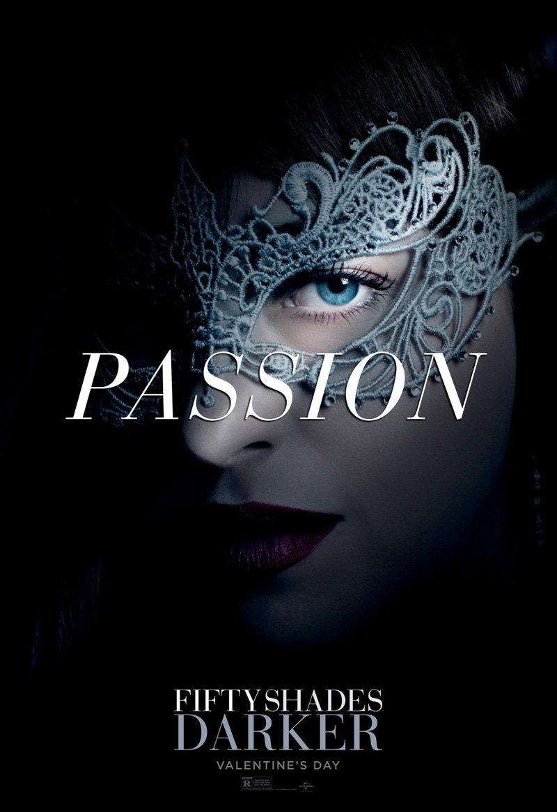Official Character Posters For Fifty Shades Darker Promise Passion, Mystery And Danger