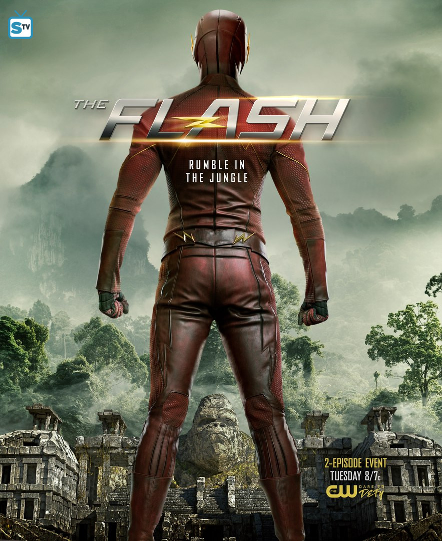The Flash Prepares To Enter Gorilla City In Dynamic New Poster
