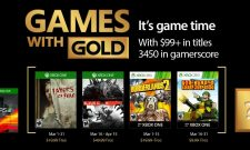 Microsoft's Games With Gold Lineup For March 2017 Includes Evolve And Borderlands 2