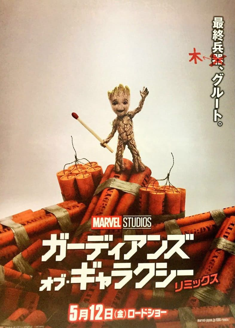 Baby Groot Features On New Guardians Of The Galaxy Vol. 2 Poster