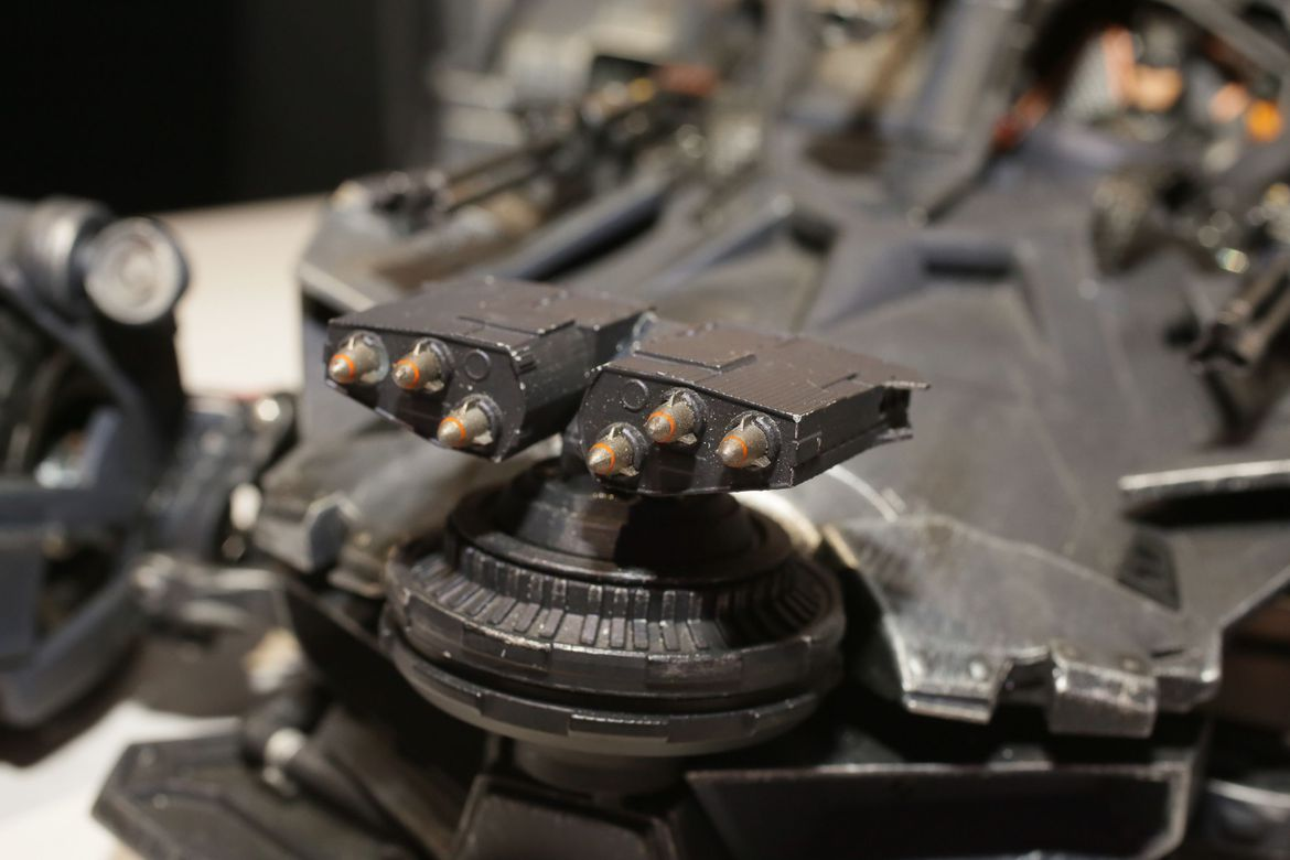 New York Toy Fair Reveals Serious Upgrades To Justice League's Batmobile