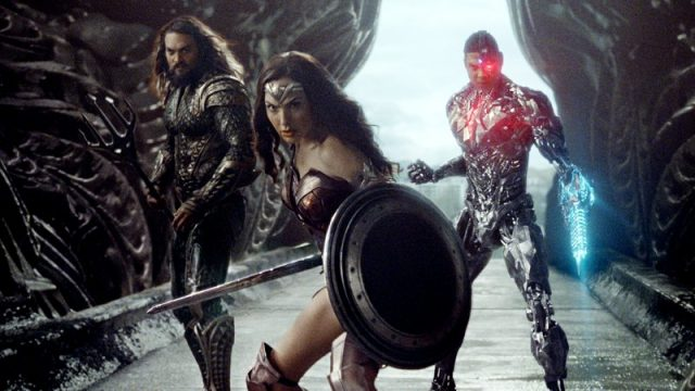 Wonder Woman, Cyborg And Aquaman Look Ready To Fight In New Justice League Photo