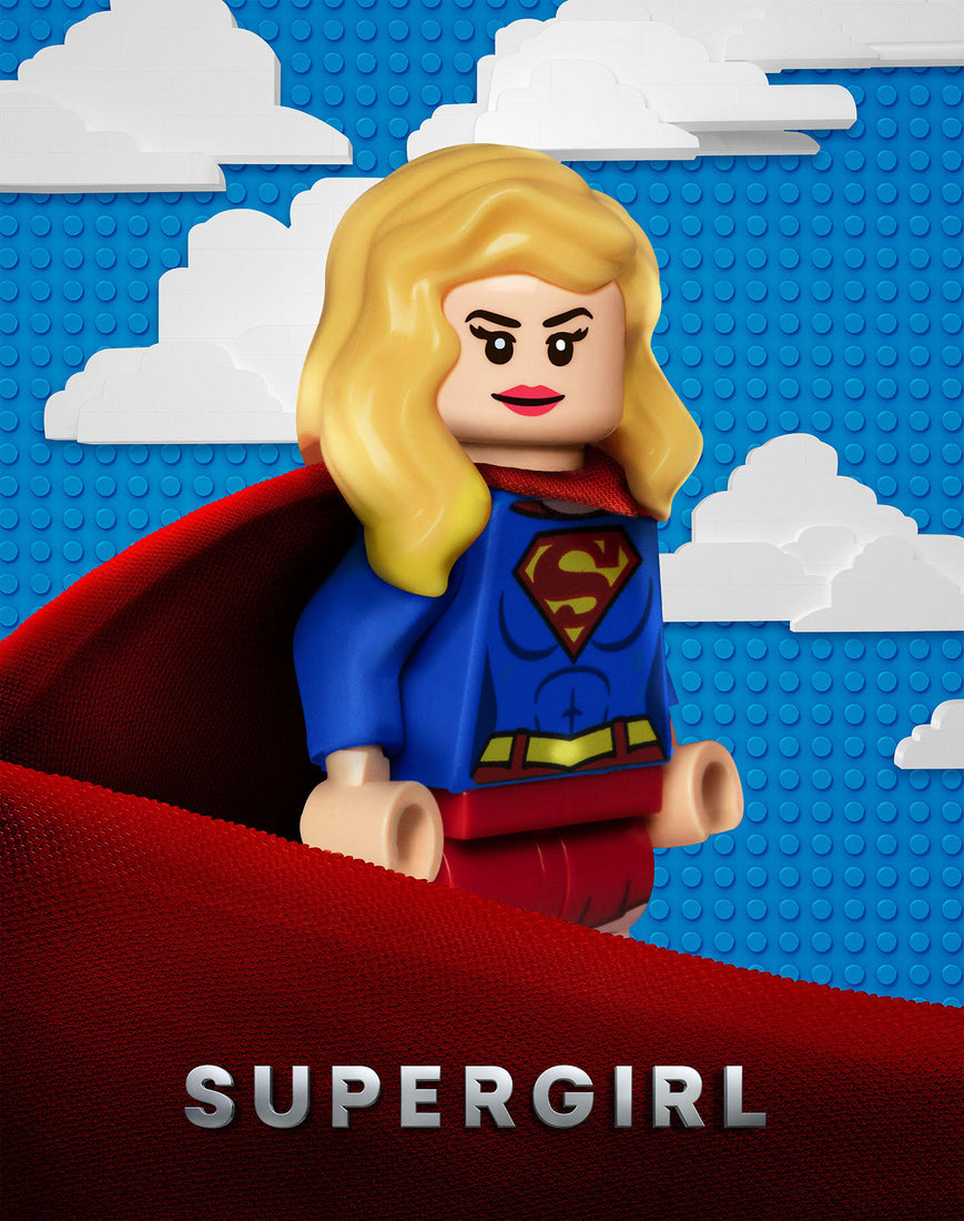 Warner Bros. Releases Awesome LEGO Posters For Their DC TV Shows