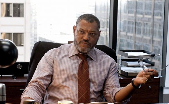 Laurence Fishburne Says He's Not In Justice League, Praises Eisenberg's Lex Luthor