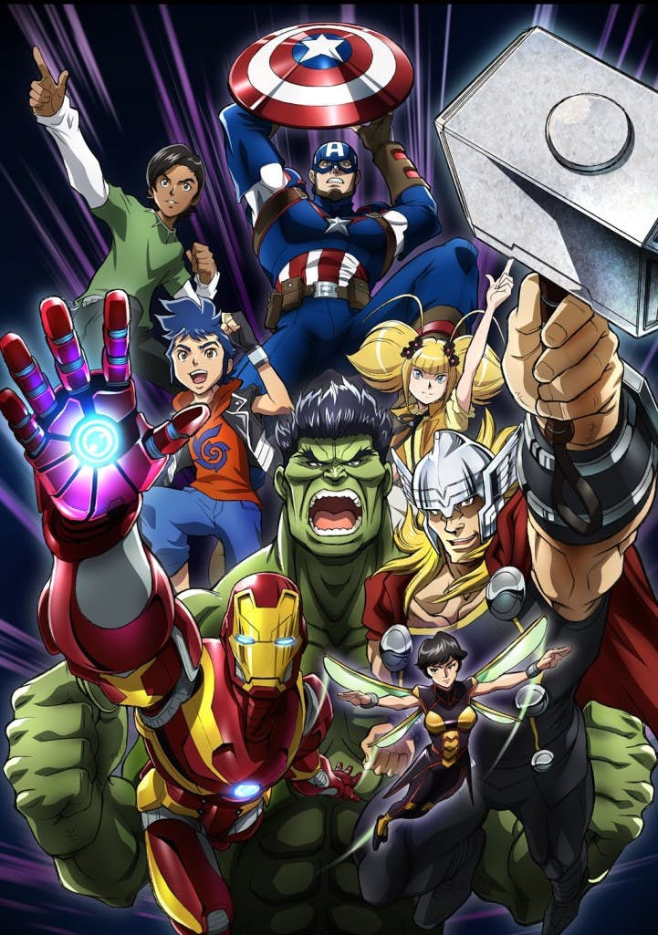 Marvel Announces Future Avengers Anime Series