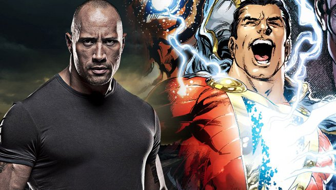 Shazam May Head Into Production In Early 2018, Dwayne Johnson Not Involved